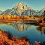 Panorama montana toamna